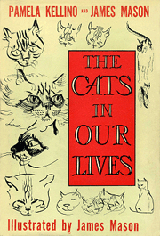 James and Pamela Mason co-authored 'The Cats in Our Lives' in 1949. James Mason illustrated the book himself.