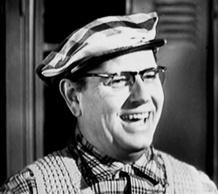 Parley Baer as Mr. Darby from Ozzie and Harriet, March 1957