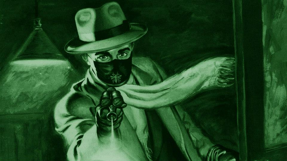 The last Green Hornet radio actor, influenced painting.