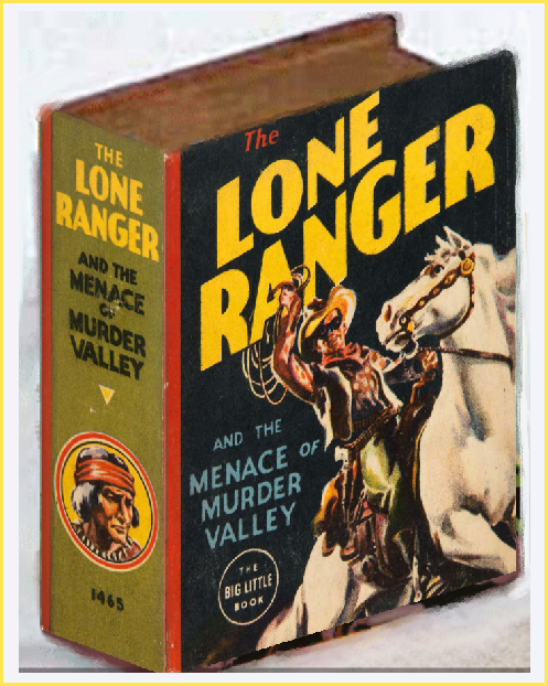 The lone Ranger rides again to murder Valley