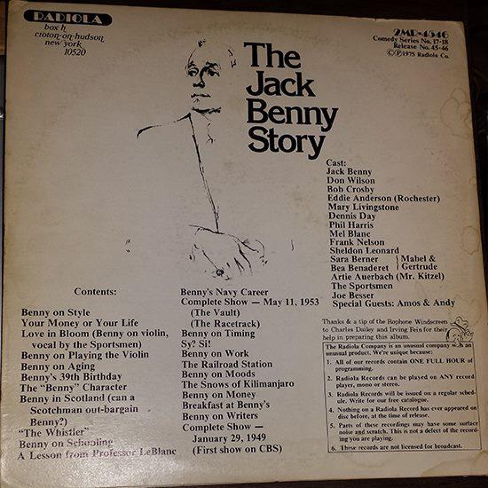 The story of Jack Benny