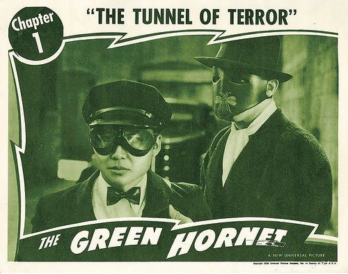Keye Luke as Kato in the Universal serial The Green Hornet.