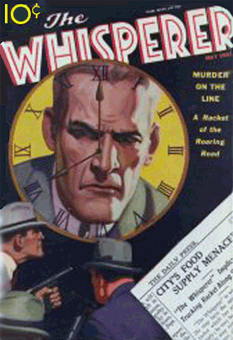 The Whisperer pulp comic from Street and Smith
