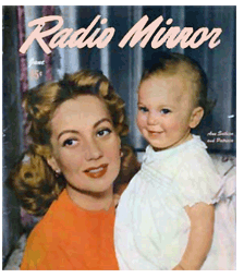 Ann Sothern holding daughter Patricia Ann (