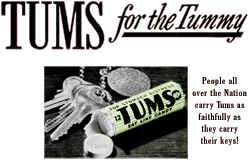 Tums began sponsoring Barrie Craig on March 18 1952