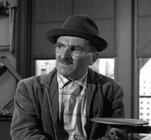 Howard McNear as Mitchell in The Twilight Zone circa 1962