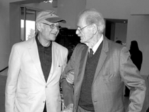 Two great Radio Normans--Lear, left and Corwin, right, ca. 2005