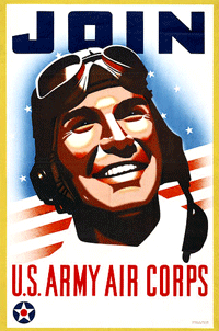 1930s Army Air Corps recruitment poster