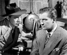 Vincent Price as Shelby Carpenter in Laura (1944) with Dana Andrews