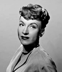 Virginia Gregg in a 1950s publicity still