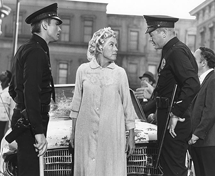 Virginia Gregg in a scene from Television's Adam-12