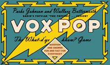 The Vox PopGame, c. 1944