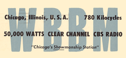 CBS-owned WBBM--We Broadcast Better Music, Chicago originated the Wayside Theater series