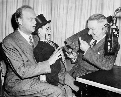 W. C. Fields with Bergen and McCarthy