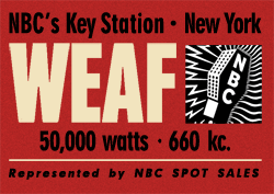 NBC-Red produced Dear Adolf in cooperation with The Council for Democracy from its flagship station WEAF, New York City