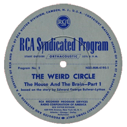 Original RCA Syndication transcription label