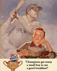 General Mills' Wheaties sponsored Dimension X for three months