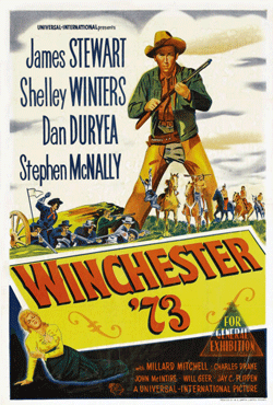 Poster for Winchester '73 from 1950