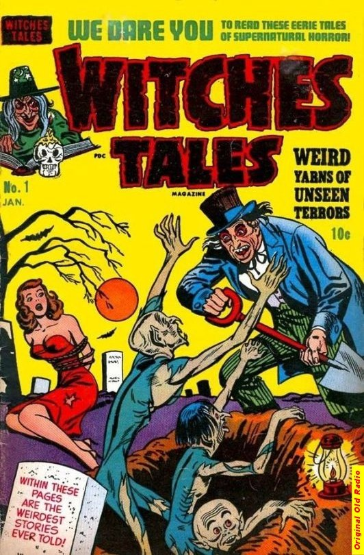 Witches Tales Comic Book