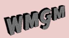 WMGM logo circa 1949