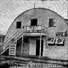 WTVG, GUAM quonset hut housing Guam's AFRS Radio station