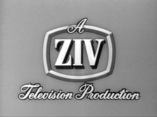 Ziv Television Production Company logo, ca. 1956, arguably one of the most ubiquitous logos from The Golden Age of Television.